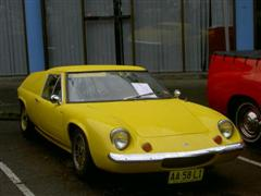 1968 Lotus Europa at the 2008 Lake Macquarie Heritage Afloat Festival in Toronto NSW