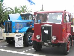 1948 Autocar DC7564T (left)  and  Albion Chieftain (right)