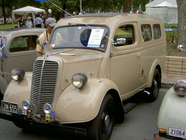 Fc Holden Panel Van Fe Holden Panelvan Vg Mtr Gbox Holden