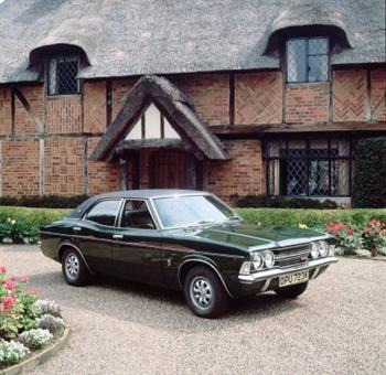 The Ford Cortina Mk III was made at Dagenham (copyright image)