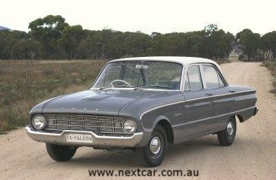 Ford Falcon XK series (copyright image)