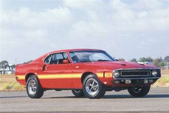 1969 Ford Mustang Shelby GT500 (copyright image)