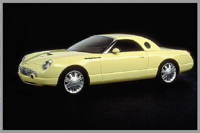 H I Ford Thunderbird Concept