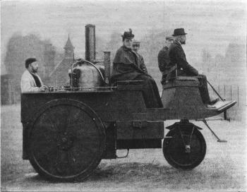 Grenville steam carriage (copyright image)