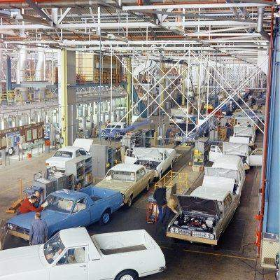 Holden's Vehicle Operations in 1968