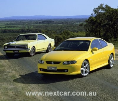 1968 Holden Monaro GTS 327 - HK series (rear) and