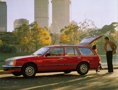 1978 Holden Commodore wagon - VB series (copyright GM Corp)