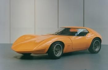 1966 Vauxhall XVR concept car (copyright GM Corp.)