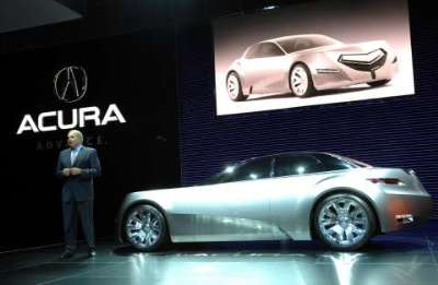 Acura Sports  on The Acura Advanced Sports Car Concept Has Made Its World Debut At The