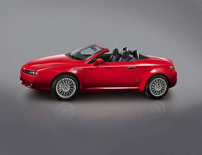 The new Alfa Romeo Spider