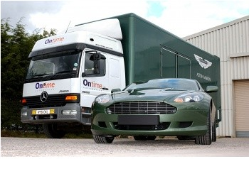 Ontime to deliver Aston Martin cars worldwide