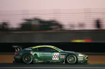 Aston Martin DBR9 at 2007 Le Mans 24 Hour Race