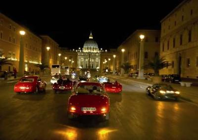 One of the Mille Miglia's most exciting moments: With the DKW Monza (in the 
