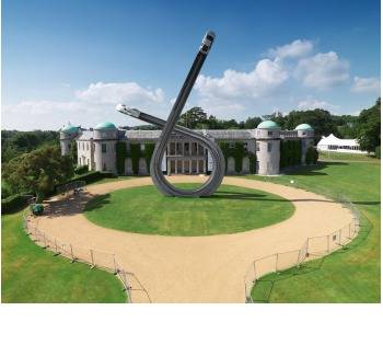 Audi's automotive art at Goodwood House (copyright image)