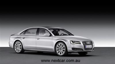 The new Audi A8 L: luxury in grand style (copyright image)