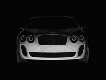 Bentley for 2009 Geneva Motor Show (copyright image)