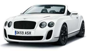 New Bentley Continental Supersports Convertible (copyright image)