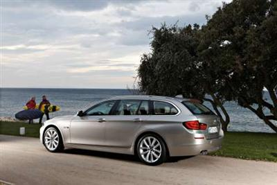 New BMW 5 Series Touring (copyright image)