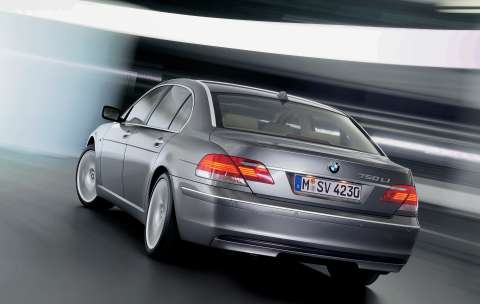 2005 BMW 750li.