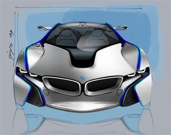BMW Vision EfficientDynamics Concept (copyright image)