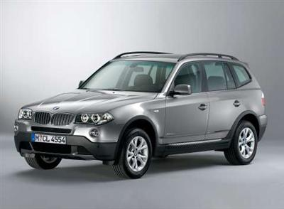BMW X3 Lifestyle Edition (copyright image)
