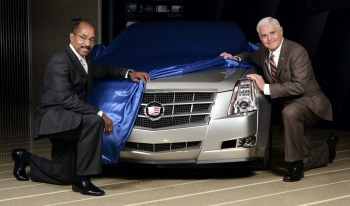 Ed Welburn, GM Vice President, Global Design (left) 