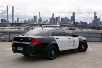 Chevrolet Caprice police car (copyright image)