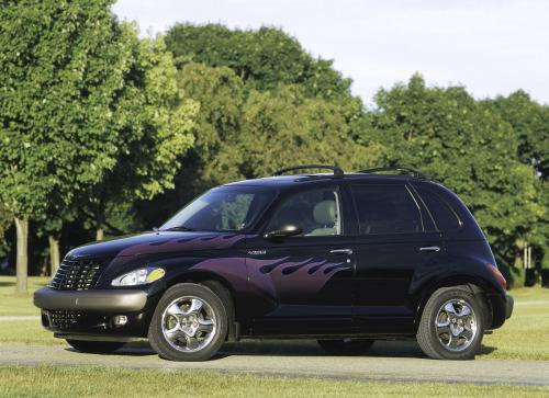 America's 2003 Chrysler PT Cruiser Flames Package