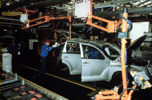 PT Cruiser production began in 2000