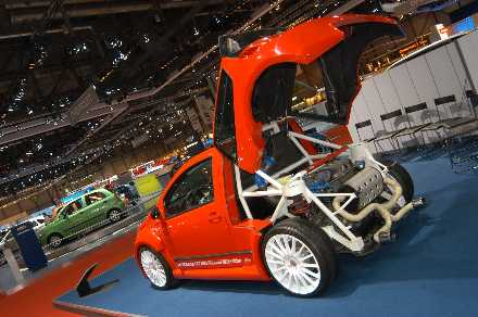 Citroen C2 with Sbarro conversion 
