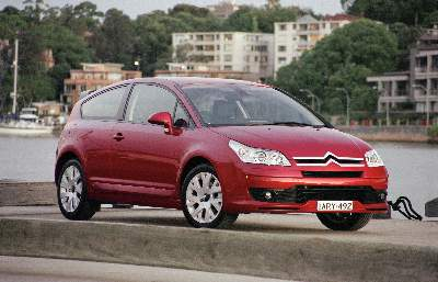 2005 Citroen C4 VTS coupe