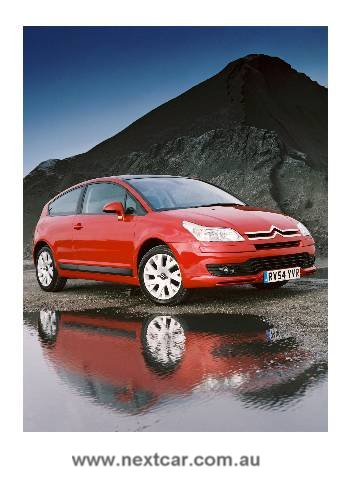 2005 Citroen C4 coupe