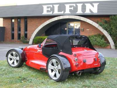 Soft-top for Elfin MS8 Clubman