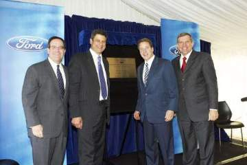 Research and Development Centre dedication - The official dedication ceremony of 