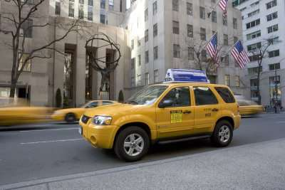 Ford Escape Hybrid Taxis For New York