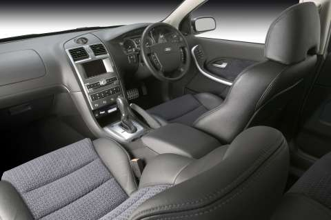 2006 Ford Falcon XR interior - BF series