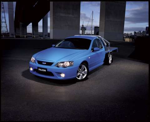 2006 Ford Falcon XR6 cab/chassis  - BF series
