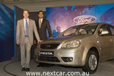 Ford Motor Company Chairman and CEO Bill Ford (left) 