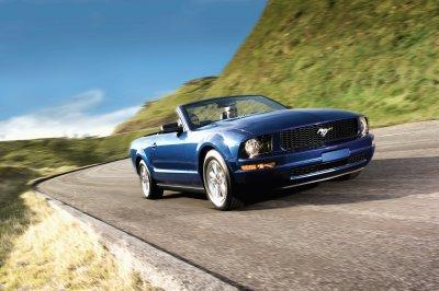 A 2008 Ford Mustang convertible (with Pony Pack), not the 9 millionth production model