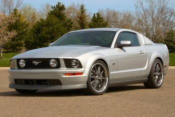 Ford Mustang GT with 