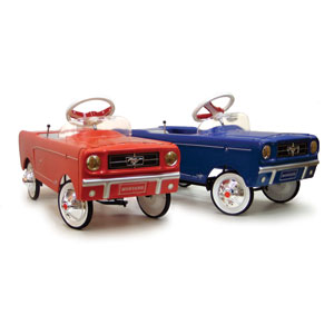 ford mustang pedal car