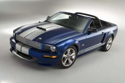 2008 Ford shelby GT convertible