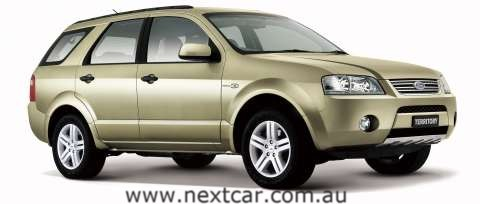 2006 Ford Territory - SY series