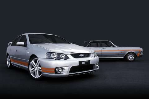 FPV GT and XW series Ford Falcon GT