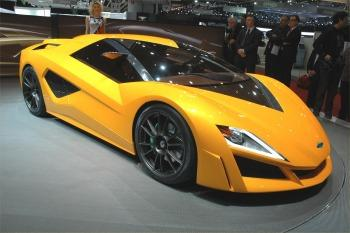 Giugiaro's Concept Car, the Frazer-Nash Namir (copyright image)