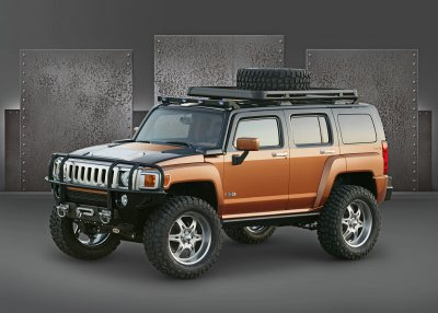 Hummer H3 'Rugged'