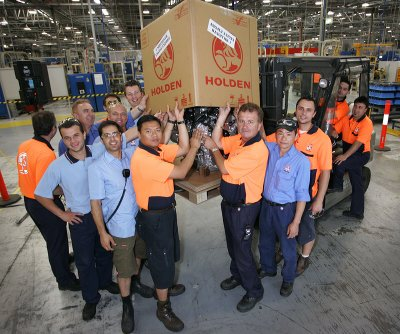 Holden Celebrates Four Millionth Export Engine