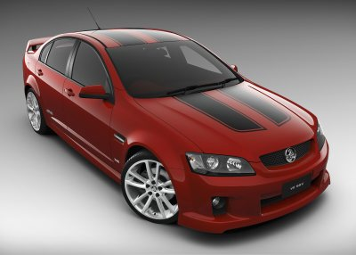 Holden Commodore SS V with accessories - VE series