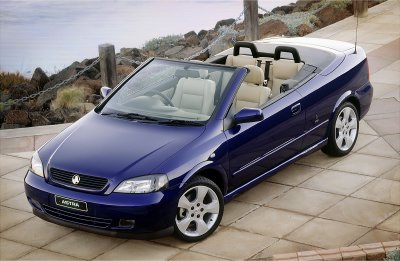 Holden Astra Convertible Limited Edition 2004 Next