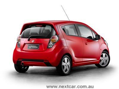 2010 Holden Barina Sedan. Early release for Holden#39;s new